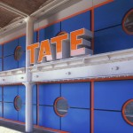 Tate Sign Landscape  Tate Liverpool 2012