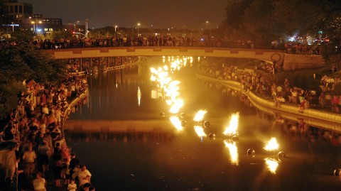 WaterFire Roma