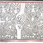 Keith Haring - The Marriage of Heaven and Hell - 1984