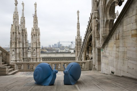 Cracking Art Group, REgeneration, Duomo di Milano