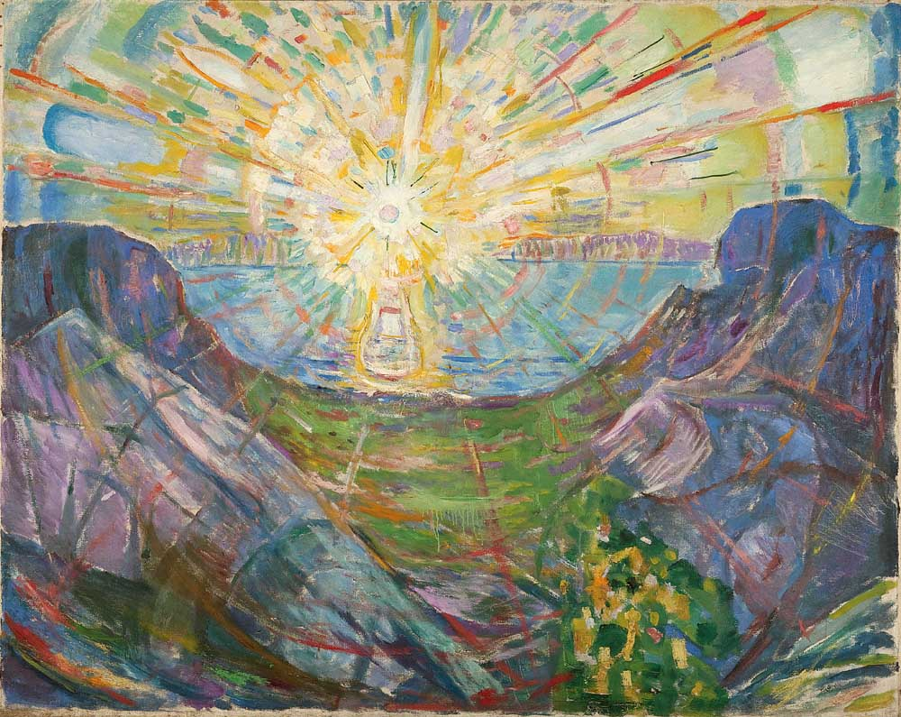 Edvard Munch - The Sun - 1910-13 - Munch Museum - © Munch Museum/Munch-EllingsendGroup/DACS 2012