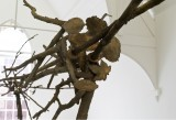 Giuseppe Penone - Pelle di Foglie - sguardo incrociato, (detail), 2005, Installation view at IKON Gallery, Birmingham (copyright Giuseppe Penone. Courtesy Gagosian Gallery, image courtesy Archivio Penone)