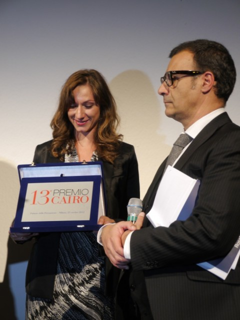 Il premio a Loredana Di Lillo