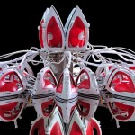 Joana Vasconcelos - Full Steam Ahead (Red #1), 2012 (foto Unidade Infinita Projectos, courtesy Haunch of Venison) 1