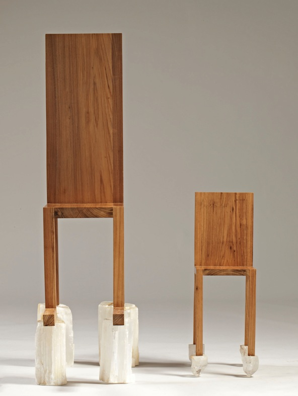 Marina Abramović – Chair for Human Use with Chair for Spirit Use, 2012 – Courtesy Marina Abramović