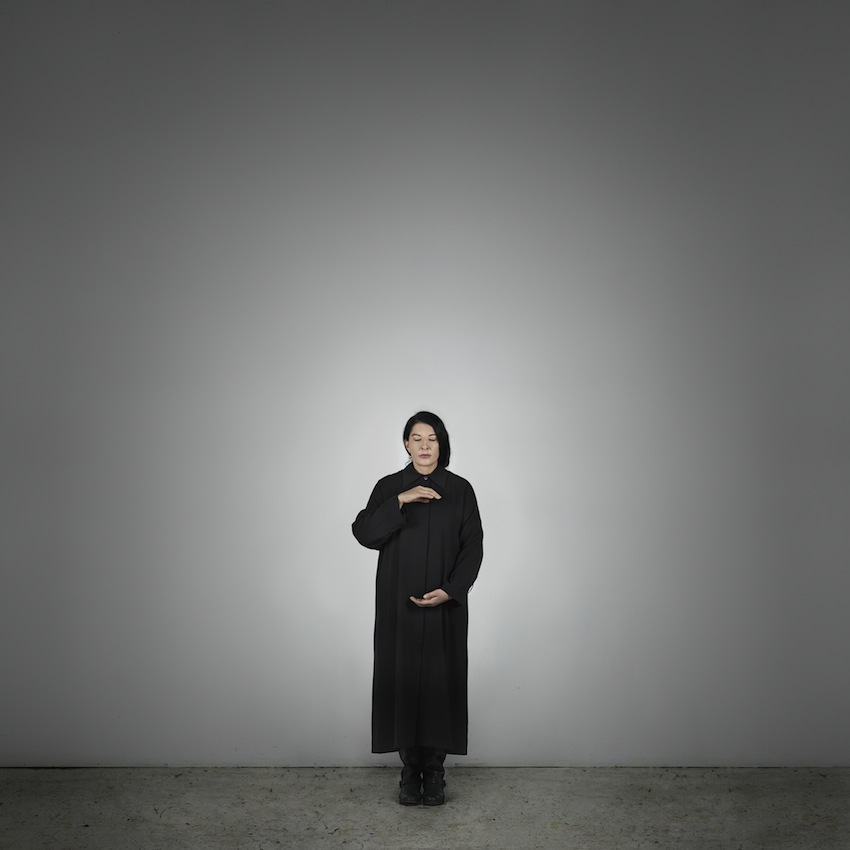 Marina Abramović – Holding Emptiness (A) (from the series With Eyes Closed I See Happiness), 2012 – Courtesy Marina Abramović