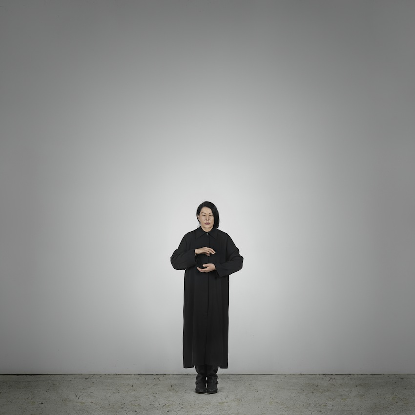 Marina Abramović – Holding Emptiness (B) (from the series With Eyes Closed I See Happiness), 2012 – Courtesy Marina Abramović