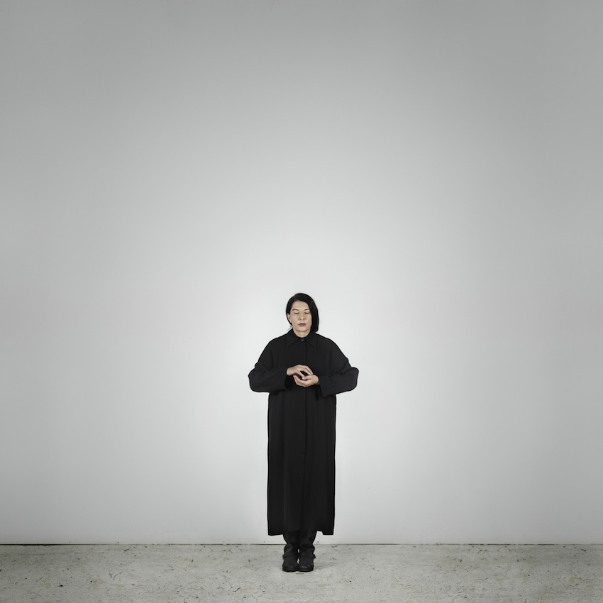 Marina Abramović – Holding Emptiness (C) (from the series With Eyes Closed I See Happiness), 2012 – Courtesy Marina Abramović