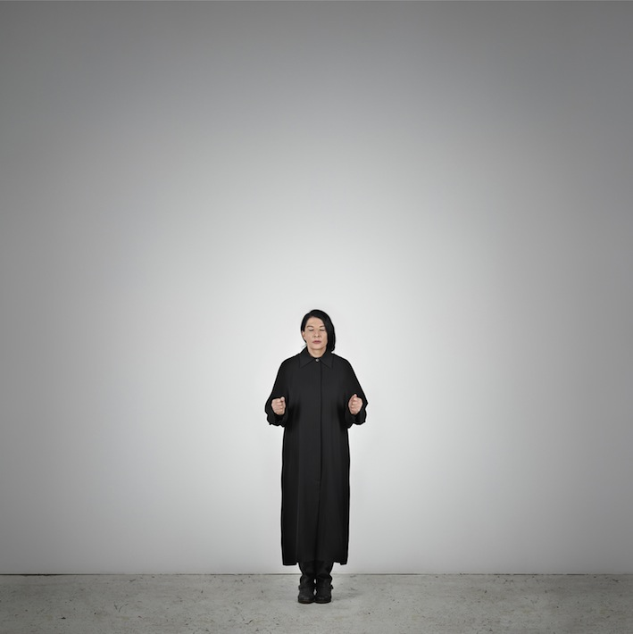 Marina Abramović – Measuring Body Heat (A) (from the series With Eyes Closed I See Happiness), 2012 – Courtesy Marina Abramović