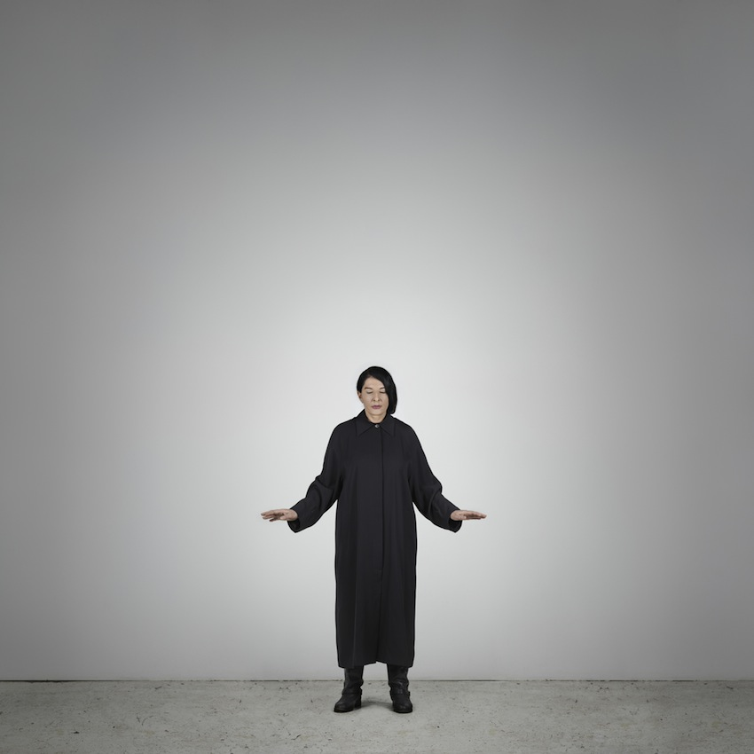 Marina Abramović – Measuring Body Heat (B) (from the series With Eyes Closed I See Happiness), 2012 – Courtesy Marina Abramović