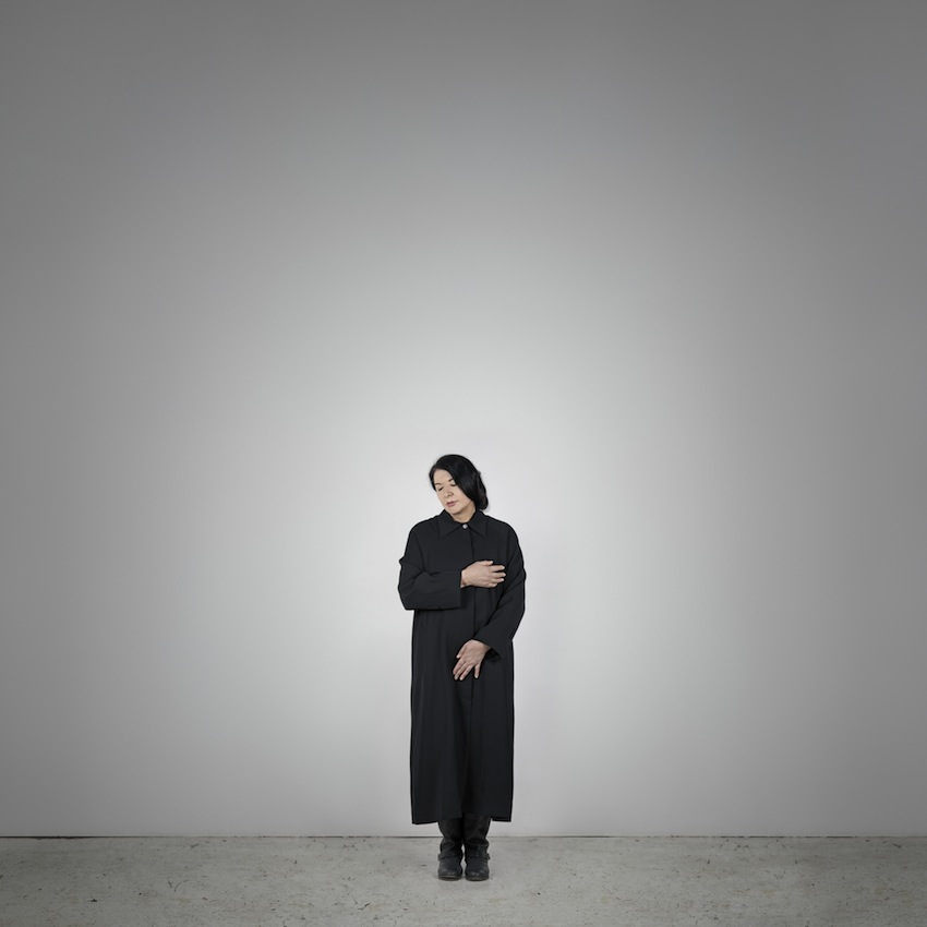 Marina Abramović – Measuring Body Heat (C) (from the series With Eyes Closed I See Happiness), 2012 – Courtesy Marina Abramović