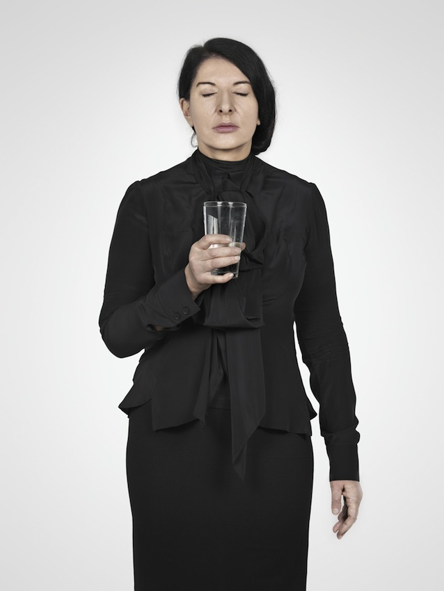 Marina Abramović – Water Study (A) (from the series With Eyes Closed I See Happiness), 2012 – Courtesy Marina Abramović
