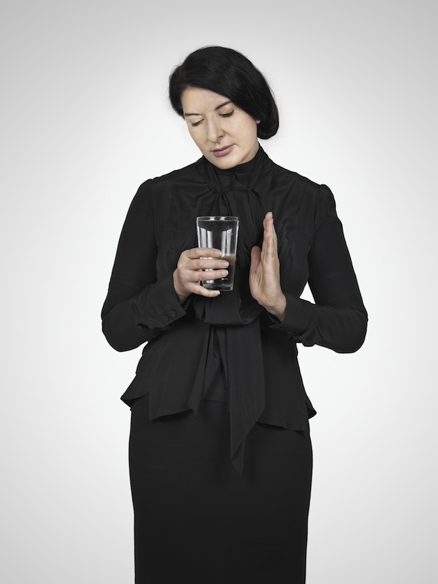 Marina Abramović – Water Study (B) (from the series With Eyes Closed I See Happiness), 2012 – Courtesy Marina Abramović