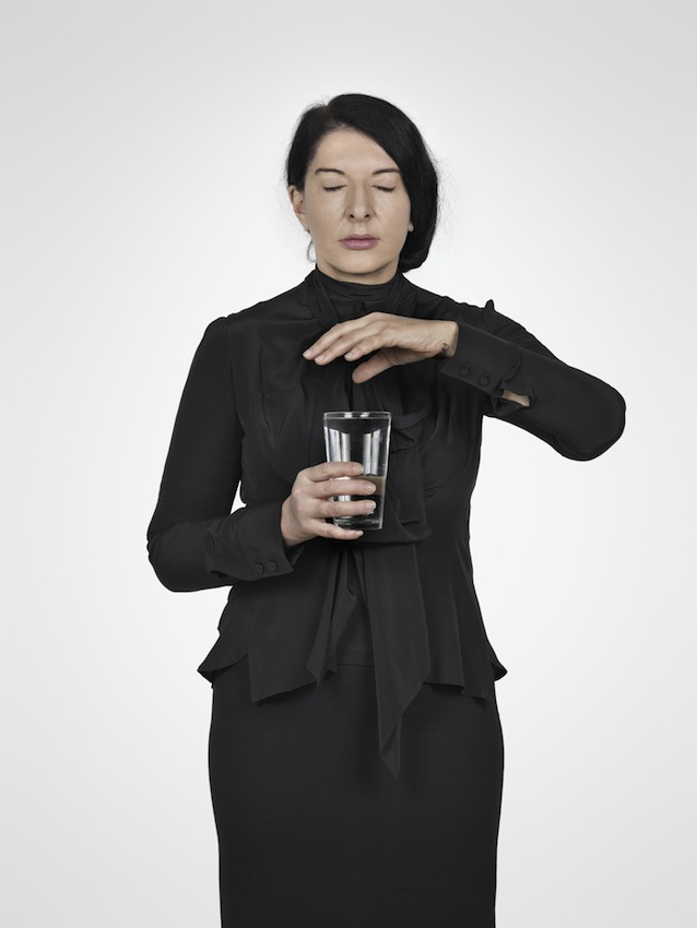Marina Abramović – Water Study (C) (from the series With Eyes Closed I See Happiness), 2012 – Courtesy Marina Abramović