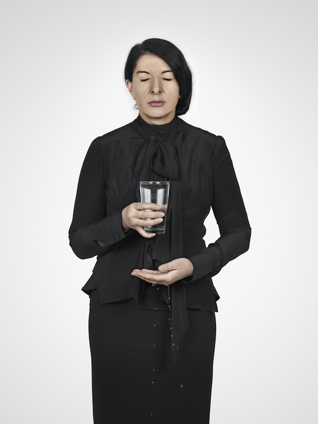 Marina Abramović – Water Study (D) (from the series With Eyes Closed I See Happiness, 2012 – Courtesy Marina Abramović