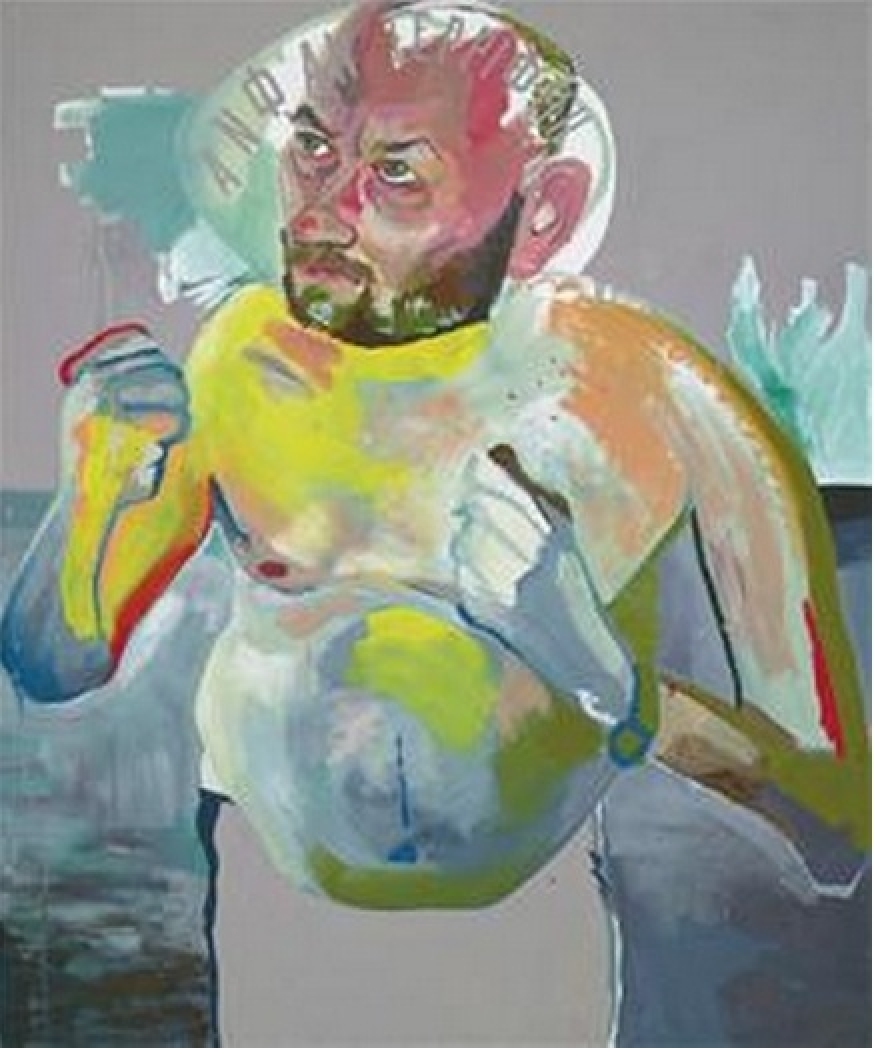 Martin Kippenberger - Untitled (from the series Hand-Painted Pictures)