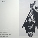 Matthew Antezzo, W.A.B.F., an Exhibition Sponsored by Philip Morris Europe, ICA, London 1969 (Pascali Pino), 1997, olio su lino - Courtesy Collezione Maramotti, Reggio Emilia