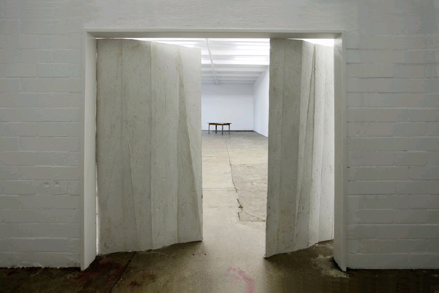 Michael Dean, Architecture of a mothers arms, 2012 - exhibition views