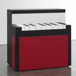 Richard Artschwager - Piano/Malevich - 2012 - Courtesy Gagosian Gallery - photo Robert McKeever