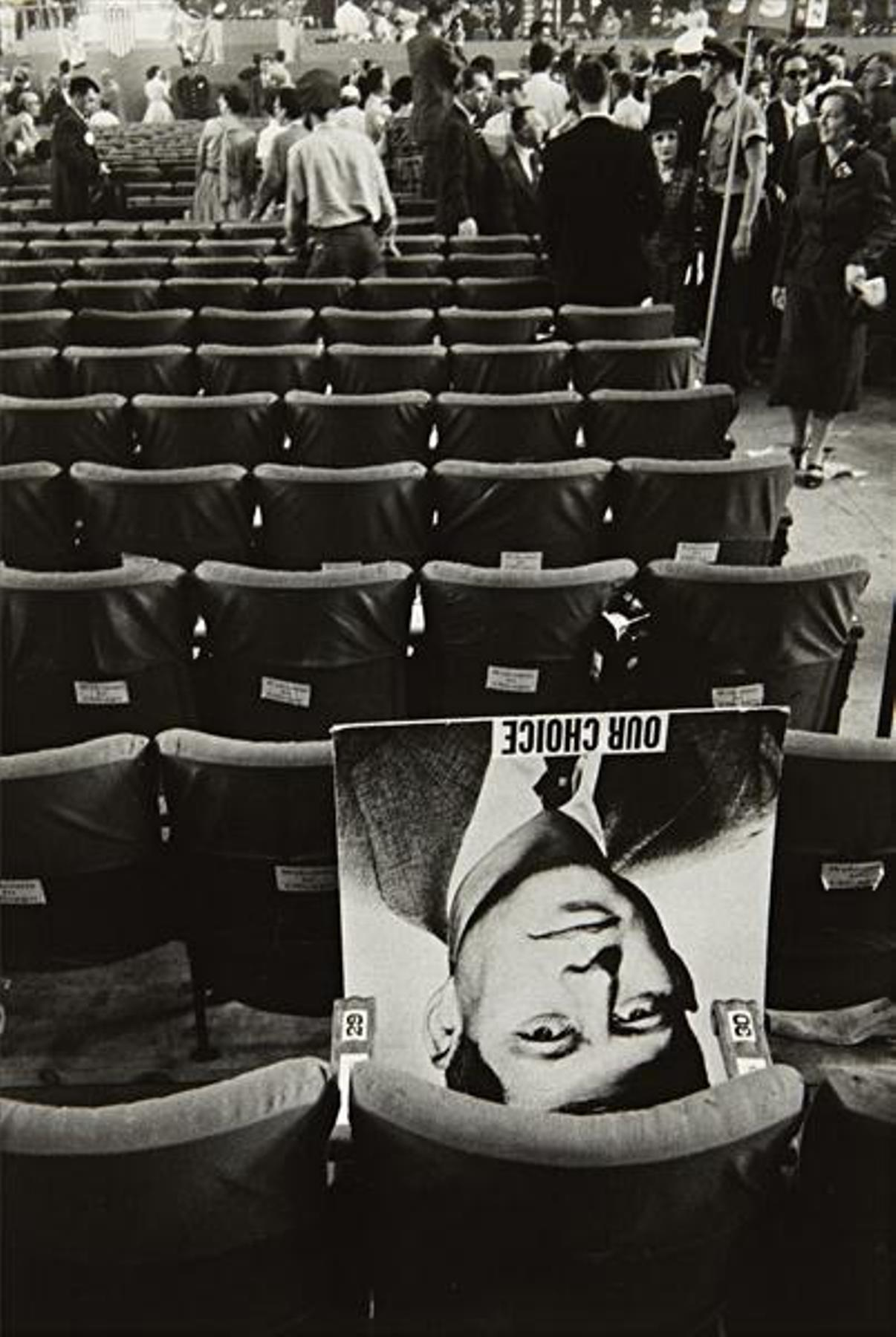Robert Frank, Chicago Convention, 1956