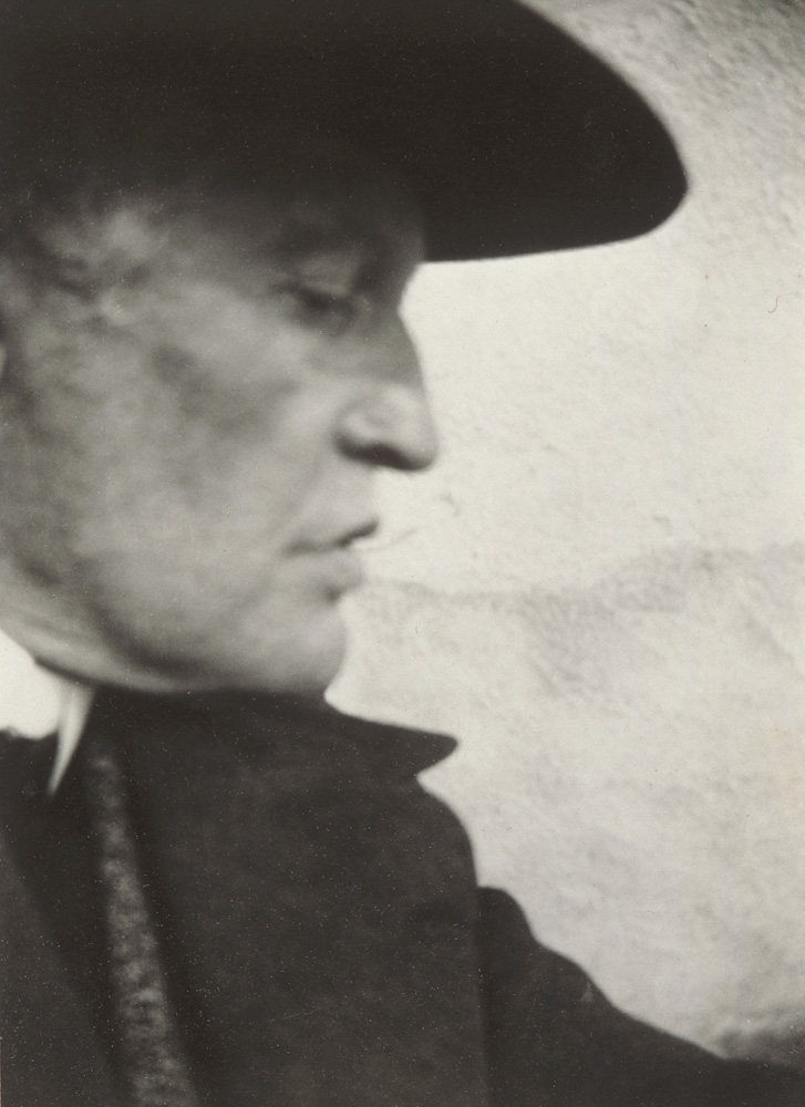 Edvard Munch - Self-Portrait with Hat (Right Profile) at Ekely - 1931 - © Munch Museum
