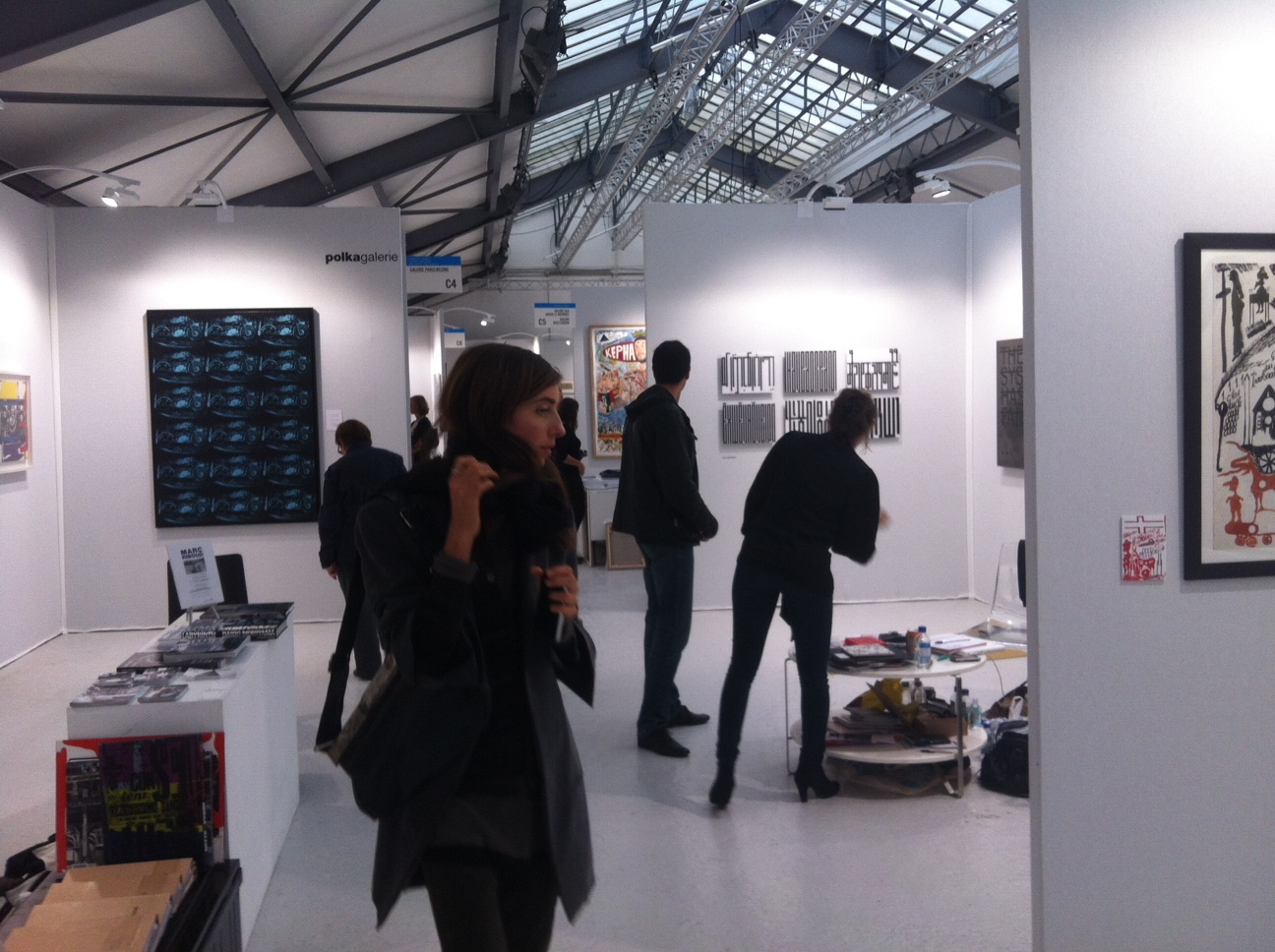 slick art fair le garage paris artribune. Black Bedroom Furniture Sets. Home Design Ideas