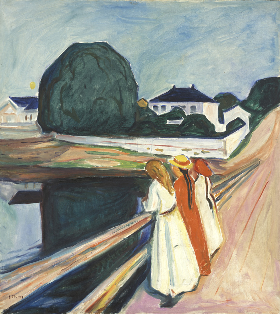 Edvard Munch - The Girls on the Bridge - 1927 - Munch Museum - © Munch Museum/Munch-EllingsendGroup/DACS 2012