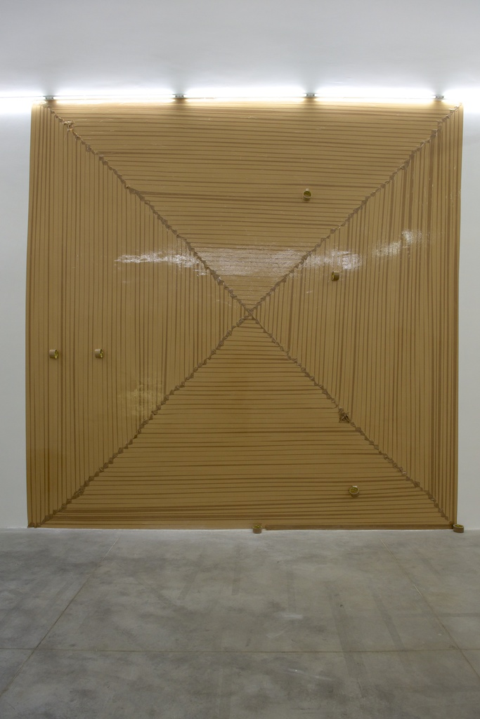 Graham Hudson - The psychological impossibility of a line becoming a sphere - 2012 - Monitor, Roma 2012