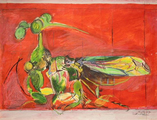 Graham Sutherland - Insect (simulating seeds) - 1967