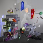 Tony Oursler - Bitch Cycle - 2012