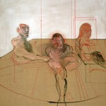 Francis Bacon - Untitled (Three Figures), c. 1981 - Dublin City Gallery The Hugh Lane, Dublino