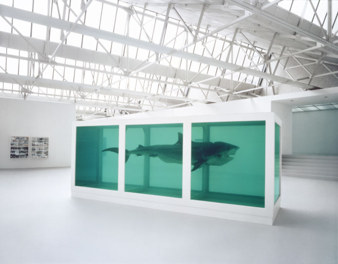 Damien Hirst Thoughts Work Life di Chris King, 2012