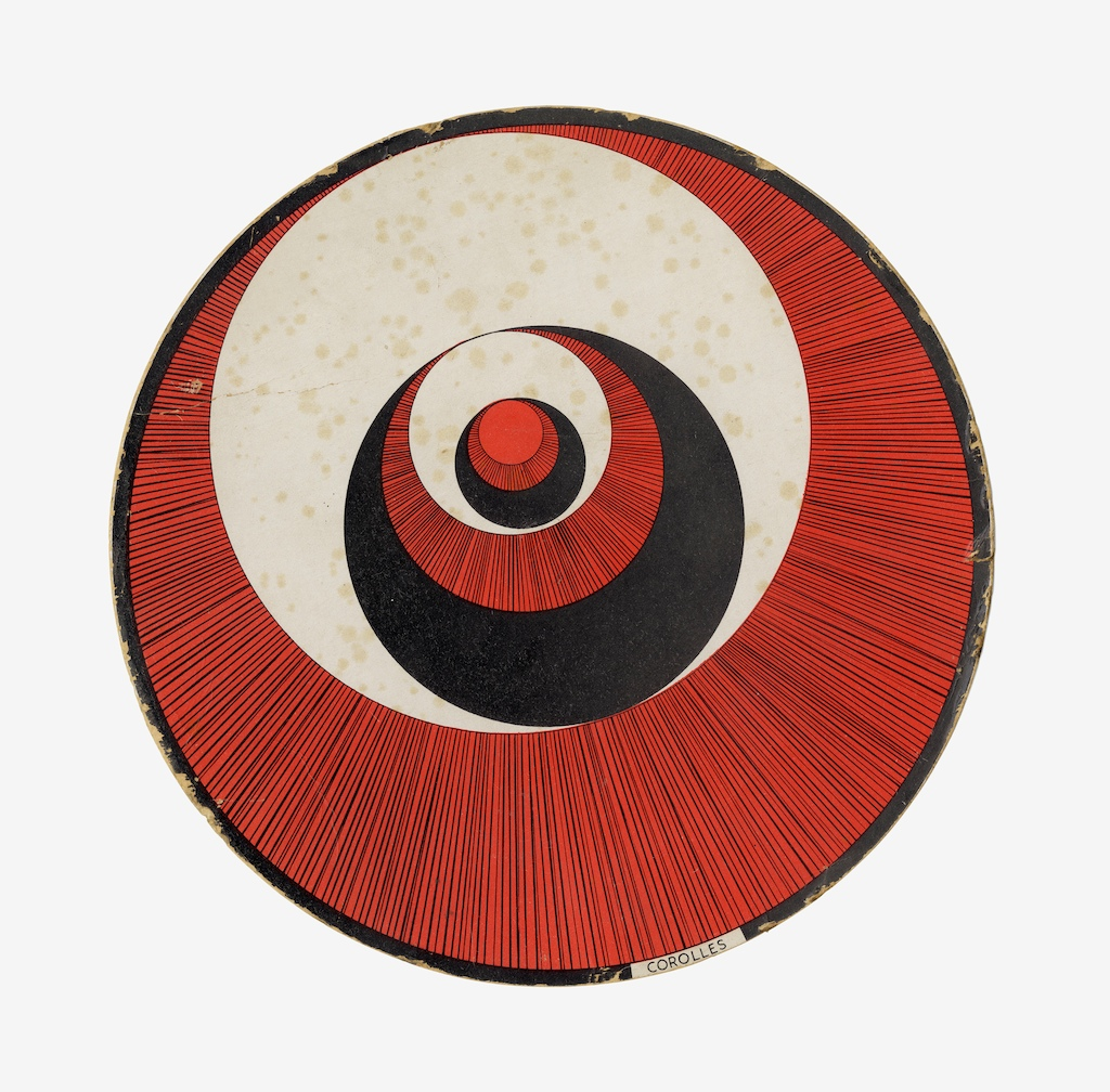 Marcel Duchamp - Rotoreliefs, 1935 - © Succession Marcel Duchamp/BUS 2012