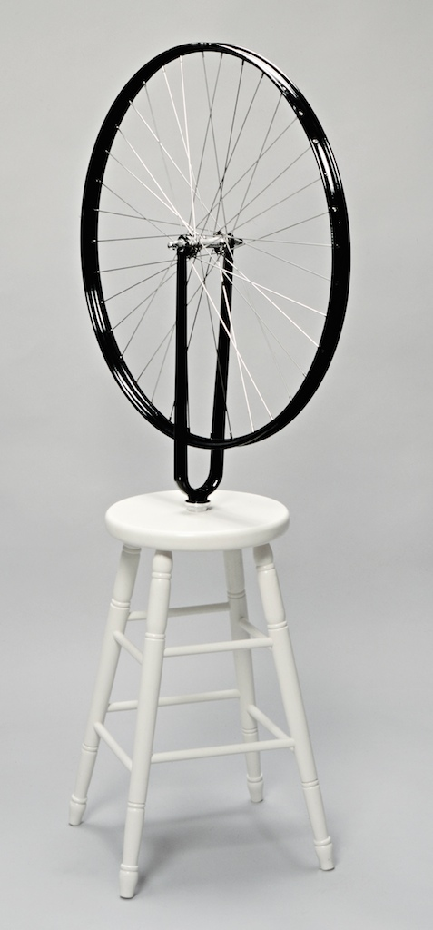 Marcel Duchamp - Roue de bicyclette, 1913/1960 - © Succession Marcel Duchamp/BUS 2012