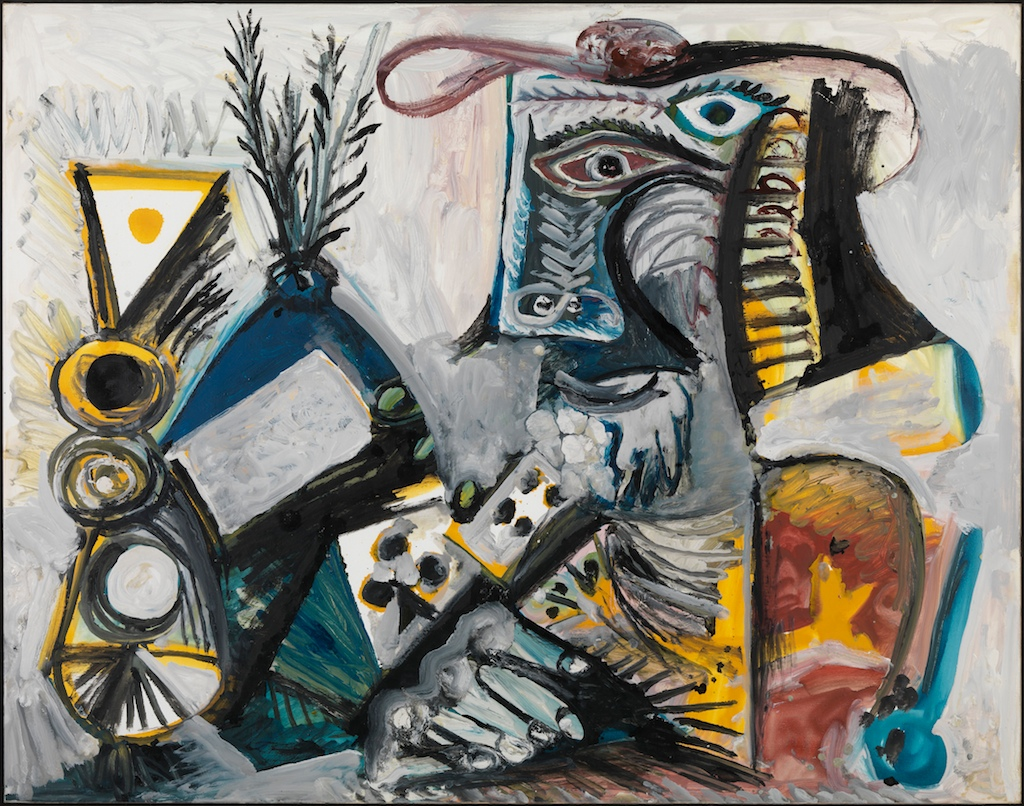 Pablo Picasso - Le Joueur de cartes II, 1971 - © Louisiana Museum of Modern Art/Succession Picasso/BUS 2012. Donation: Ny Carlsbergfondet / The New Carlsberg Foundation