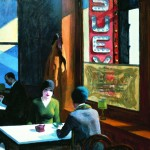 Edward Hopper - Chop Suey - 1929 - Collection de Barney A. Ebsworth