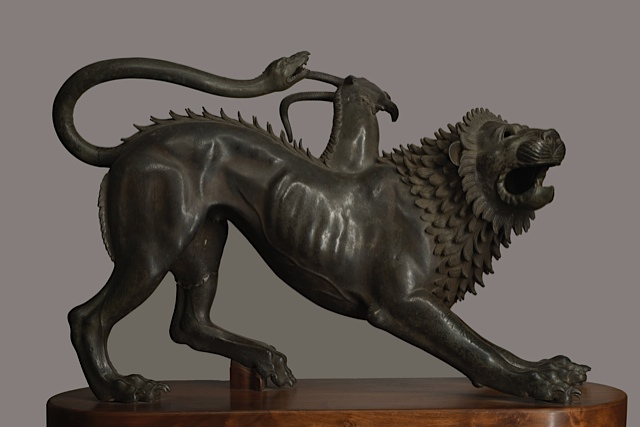 Chimera di Arezzo - Etruria - 400 a.C. ca. - photo Antonio Quattrone, Firenze