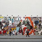 Houston and Bowery murales - FAILE