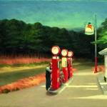 Edward Hopper - Gas - 1940 - New York, The Museum of Modern Art Mrs. Simon Guggenheim Fund, 1943