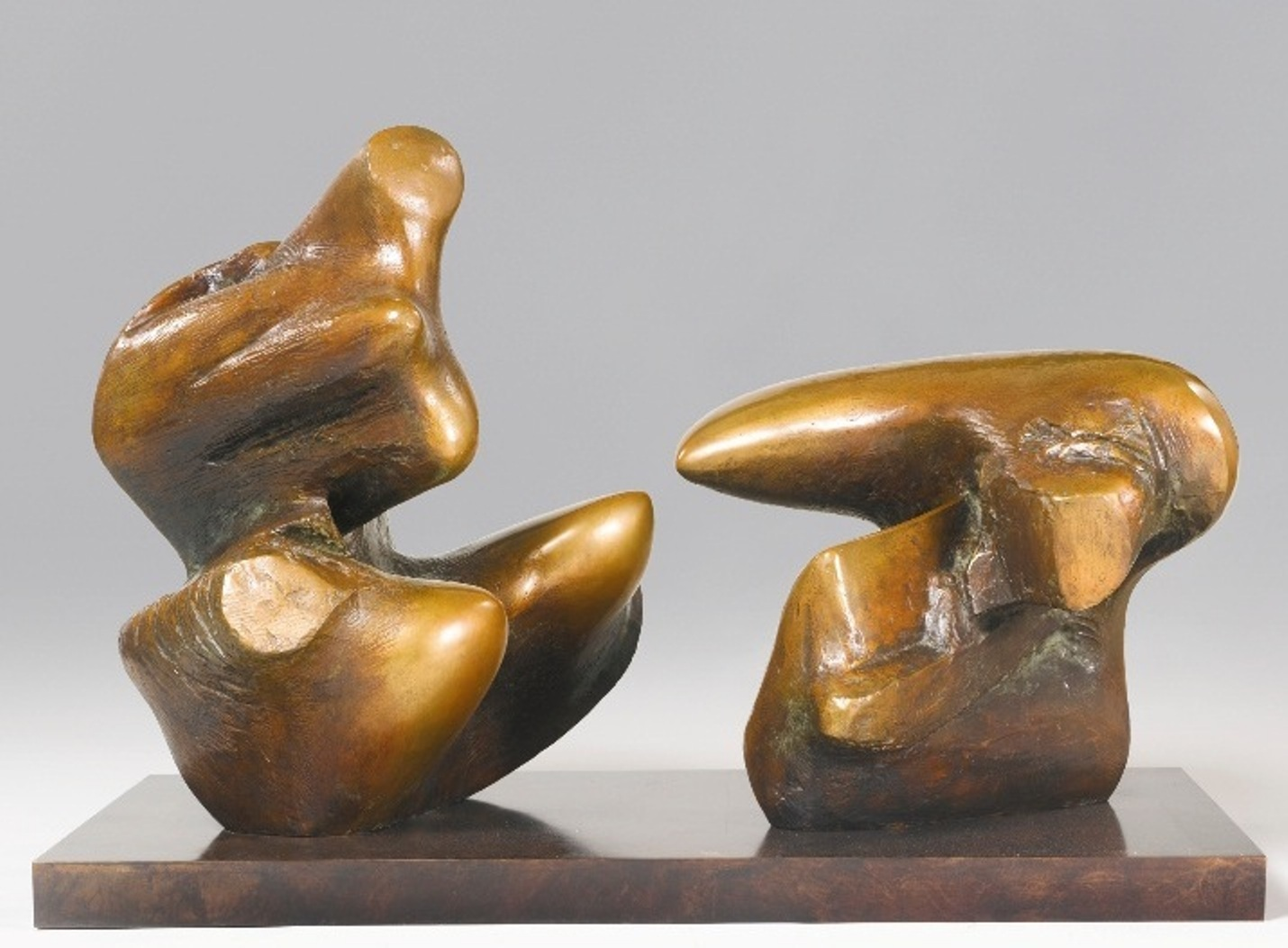 Henry Moore - Two Piece Reclining Figure No. 1