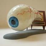 Jim Shaw, Dream Object (Eyeball TV model) (2006) Courtesy the artist and Marc Jancou Contemporary, New York