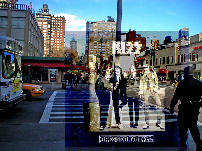 Kiss - Dressed to Kill - 1975 - 23rd Street and Eighth Avenue, New York