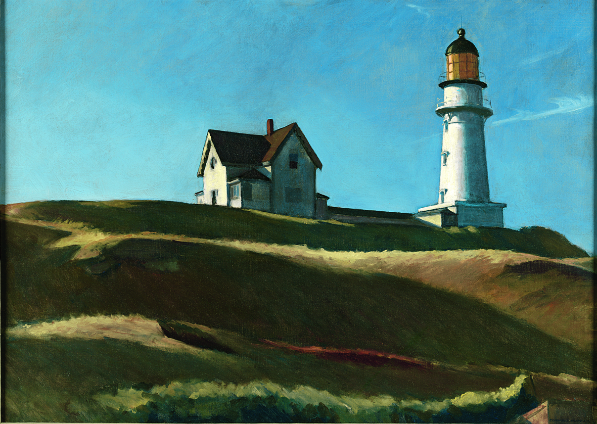 Edward Hopper - Lighthouse Hill - 1927 - Dallas Museum of Art, gift of Mr. and Mrs. Maurice Purnell