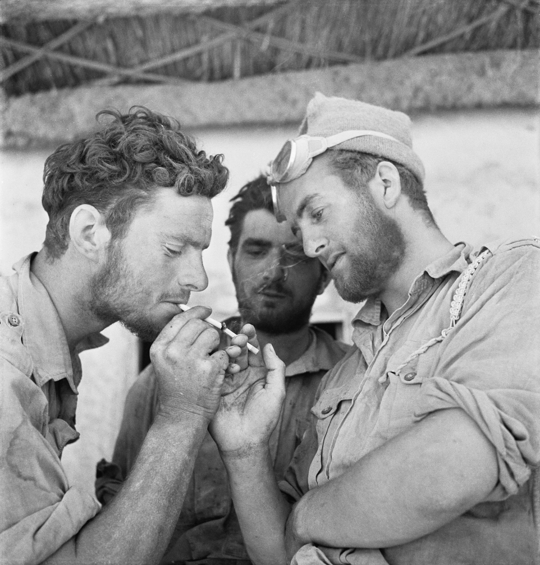 Cecil Beaton - Long Range Desert Group - Part of IWM's Ministry of Information Second World war Official Collection By permission of IWM (Imperial War Museums)