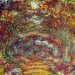Claude Monet - The Path under the Rose Arches - 1918-24
