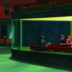 Edward Hopper - Nighthawks - 1942 - Chicago, The Art Institute of Chicago, Friends of American Art Collection