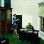 Edward Hopper - Office at Nght - 1940 - Minneapolis, Collection Walker Art Center ; Gift of the T. B. Walker Foundation, Gilbert M. Walker Fund, 1948