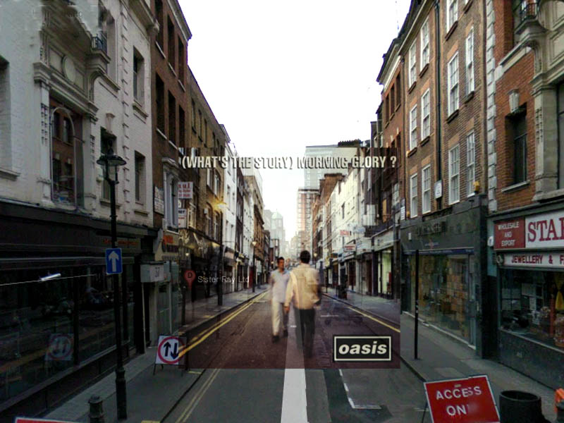 Oasis, What's the Story, Morning Glory - 34 Berwick Street, Londra