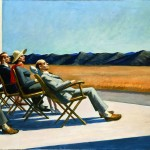 Edward Hopper - People in the Sun - 1960 - Smithsonian American Art Museum, Gift of S.C. Johnson & Son, Inc.