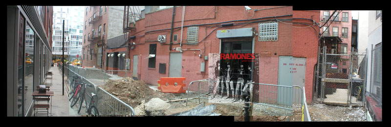 Ramones, Rocket to Russia,1977 - East 1st Street between Bowery and Second Avenue, New York